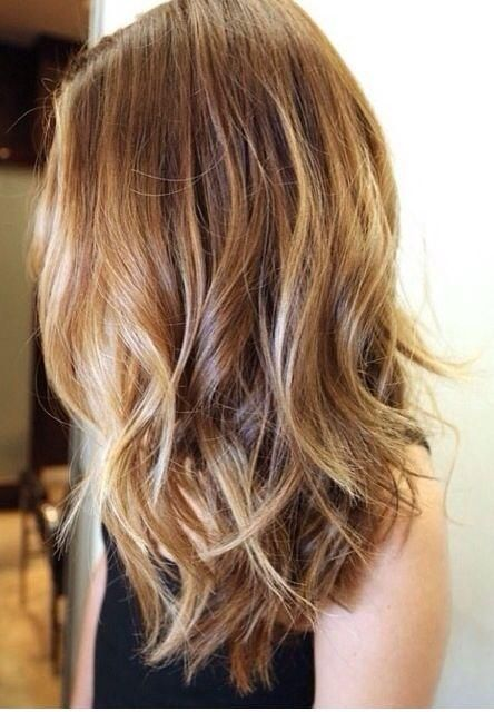 meches blondes, balayage