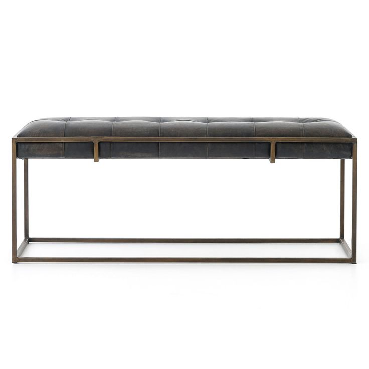 (http://www.zinhome.com/oxford-tufted-vintage-black-leather-bench-43/)