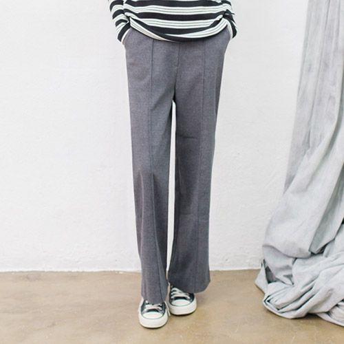 Womens Clothing Store [VANILLAMINT] Poly Pants / Size : FREE / Price : 52.32 USD #dailyllook #dailyfashion #fashionitem #ootd #bottm #pants #slacks #vanillamint http://en.vanillamint.net/