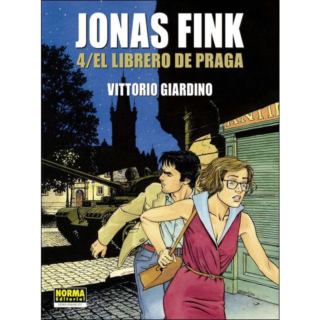 Norma Editorial Jonas Fink 4 El Librero De Praga Praga Libreros Libros