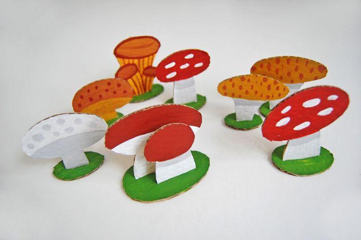 Открытки скучаю, открытка гриб своими руками