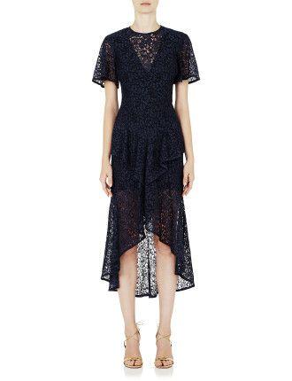 Dolce Vita Frill Midi Dress