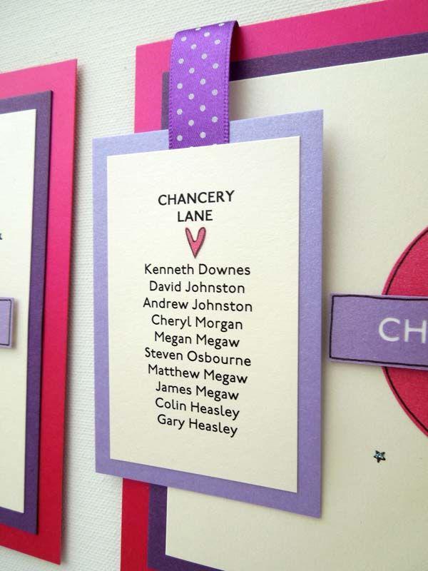wedding table name card size%0A London Tube Sign Underground Wedding Table Plan  Table Names and Wedding  Card Post Box