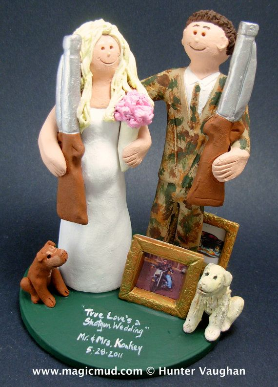 redneck deer fishing hunting wedding cake toppers 82 best images about fishing catch weddings 19131