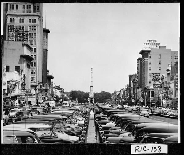 Downtown Augusta Ga: Broad Street Augusta, GA In The 1950s When I Was Growing