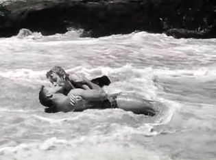 "11. Vintage Summer Picture -- Burt Lancaster and Deborah Kerr in ""From Here to Eternity"""