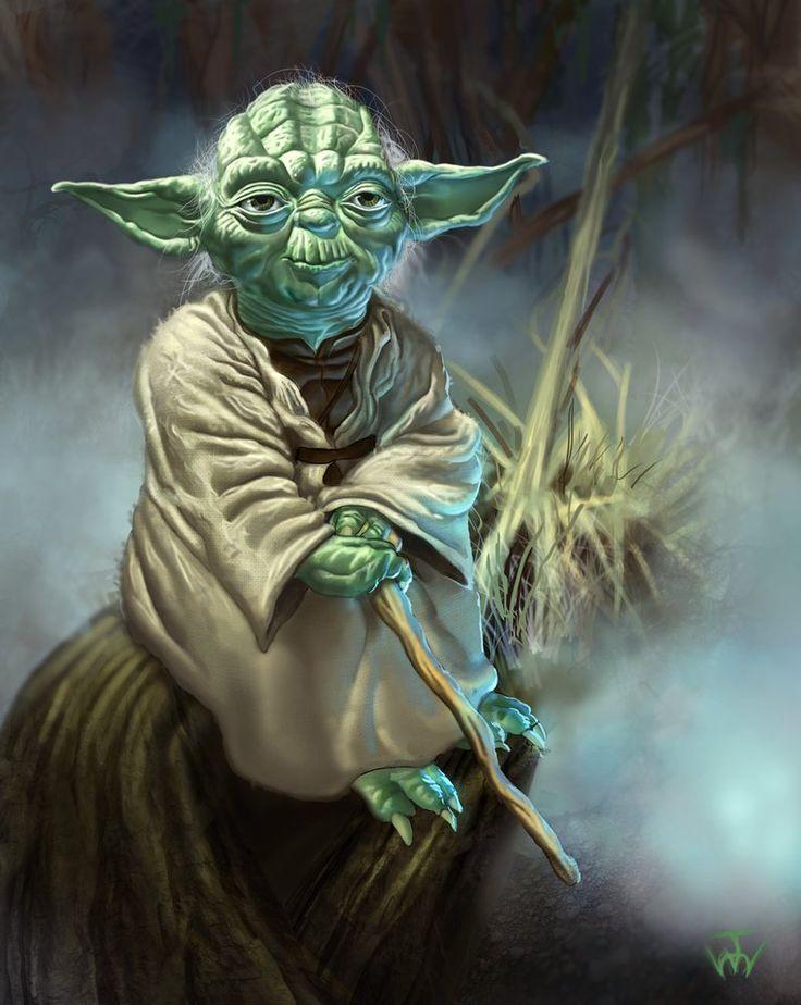 Star Wars - Yoda by johnnymorrow on deviantART