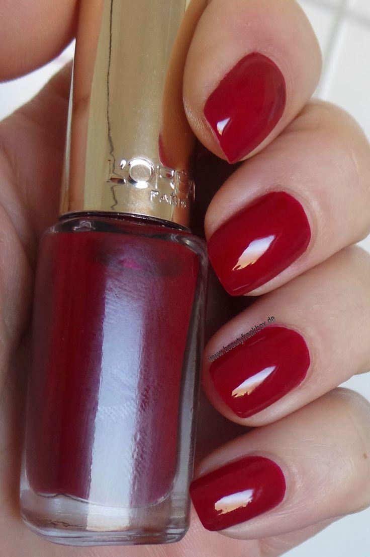 loral paris color riche le vernis 404 scarlet vampire - Vernis L Oral Color Riche