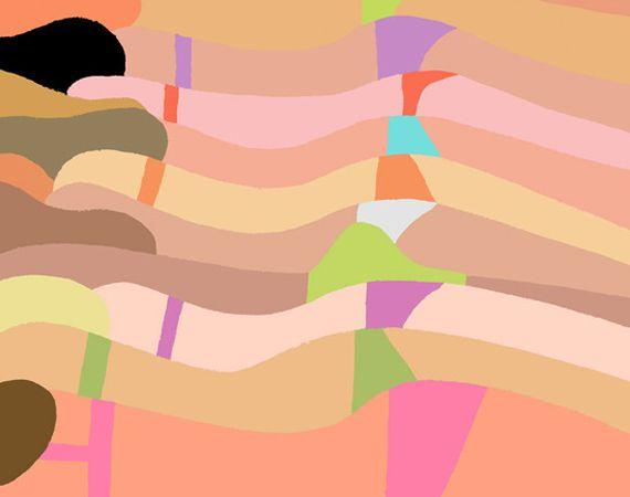 Jean Jullien   La Plage at Beach London Gallery