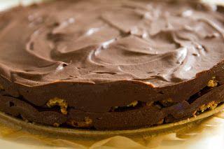 52 cakes for 52 special people: Taart 4: Italiaanse bitterkoekjes-chocolade taart