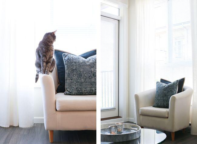 Girl & Closet. Our Coastal Inspired Living Room Tour!