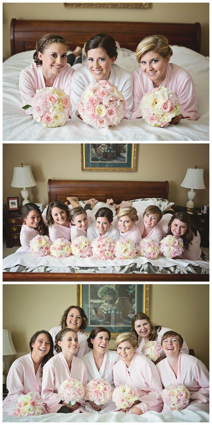 #Bridesmaids before wedding, Heather Brulez Photography, Kansas City wedding photographers. #weddings