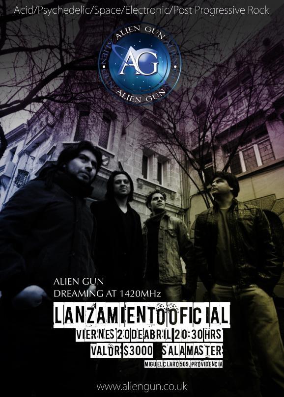 HOY Alien Gun presenta su disco debut Dreaming at 1420 MHz http://www.productonacional.cl/alien-gun-presenta-su-disco-debut-dreaming-at-1420-mhz