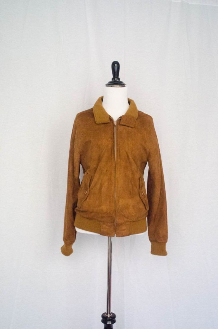 Vintage 1970's - 80's 'Beat On The Brat' Buckskin Suede Jacket Size S by BeehausVintage on Etsy