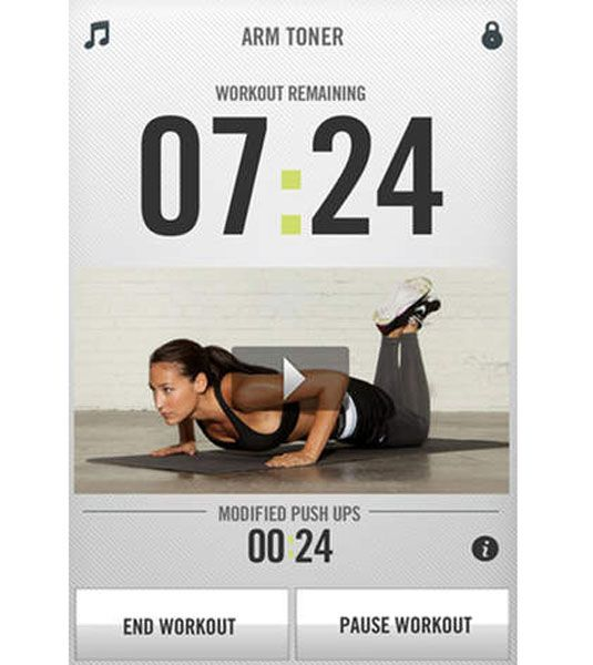 Make staying in shape easier by using one of the awesome and free apps.