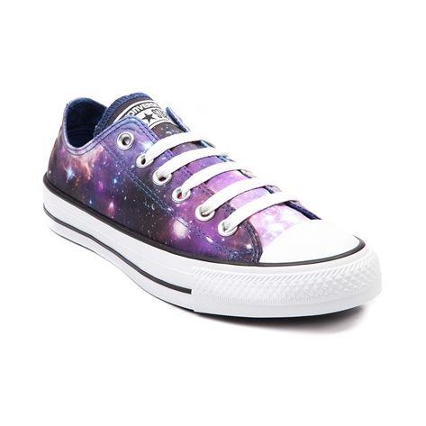 NEW CONVERSE ALL STAR LO COSMIC GALAXY SNEAKER Womens Shoes Print Camo Stars