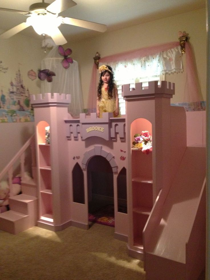 Best 25 castle bed ideas on pinterest princess beds for Princess bed blueprints