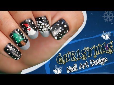 Christmas Nail Art Design Tutorial For Beginners!!!!!  http://www.youtube.com/watch?v=eo_bJXjVWAk