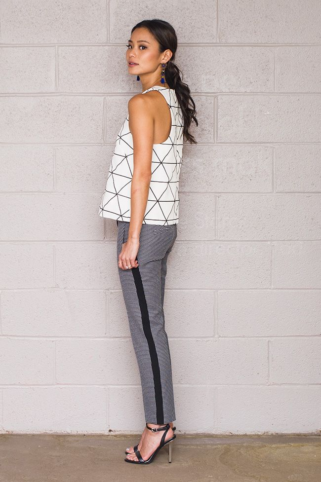 Day to Night Look with the Ann Taylor Pant.