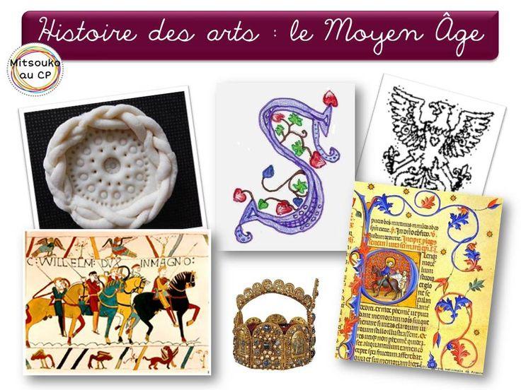 dossier sur les arts au Moyen Âge : albums, activités, pistes d'exploitation, liens ...