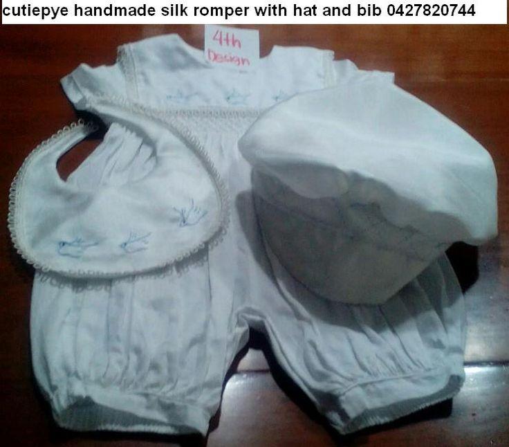 cutiepye silk smocked romper 0427820744