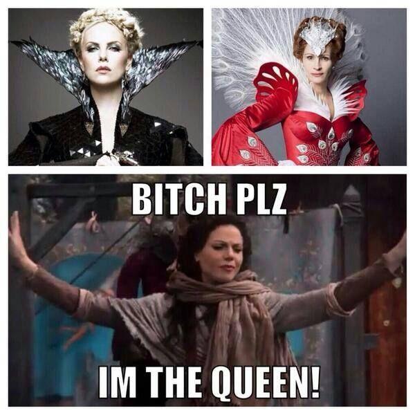 Bitch, please. Lana Parrilla is our Evil Queen!