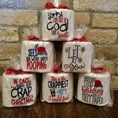 25 unique funny gag gifts ideas on pinterest gag gifts gag christmas toilet paper funny gag gift by sweetteaspecialties negle Gallery