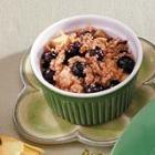 Pear Blueberry Crisps Recipe