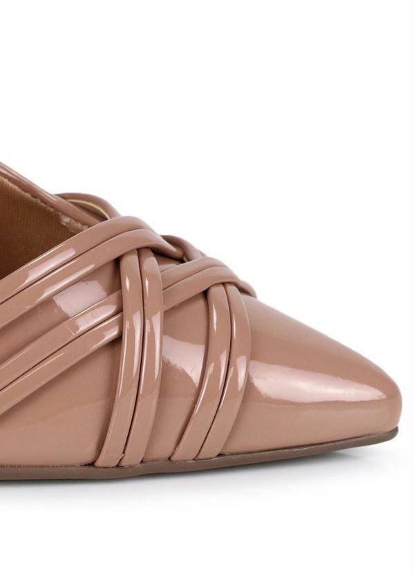 Scarpin Shoe Via Uno Nude   – Products