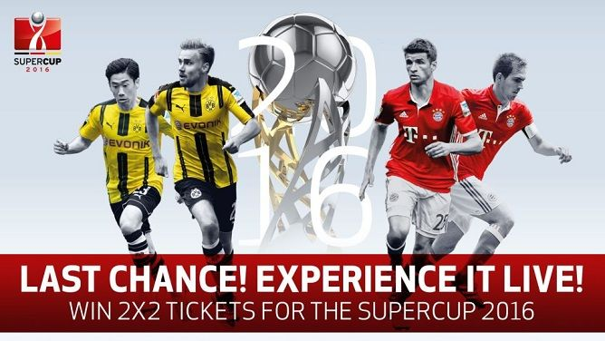 Live Stream: Borussia Dortmund vs Bayern Munich – DFB-Supercup