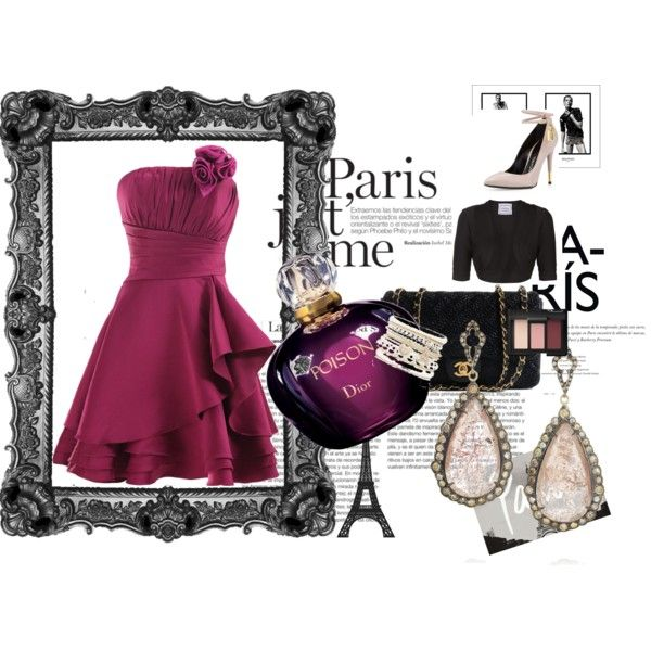 """""""I'm in Paris"""" by nikita-17 on Polyvore"""