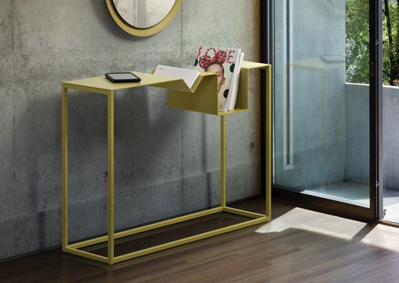 Zigzag Console Table in Pear. Available at Scanhome Furnishings on Broadway in Green Bay.