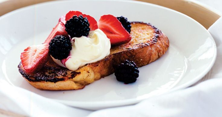 Try this 'berry' special version of French toast - you won't be disappointed.
