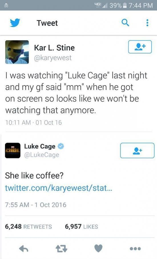 When Luke Cage is moving in on your girl
