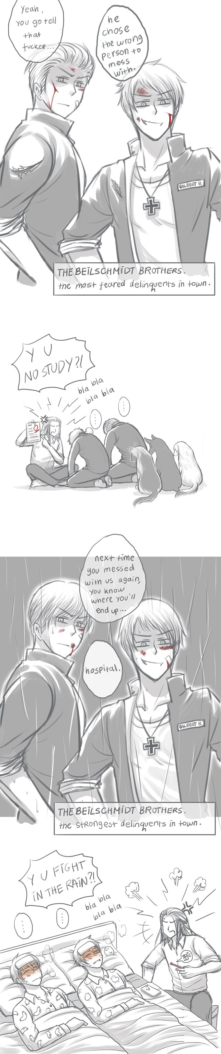 so BA by kuroneko3132.deviantart.com on @deviantART Des-Chan ~ aways respect your parent these german brother have their point proven