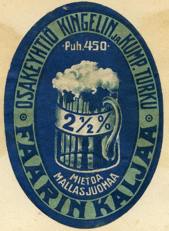 Faarin kalja #Kingelin #panimot #kalja #olut #beer #Turku