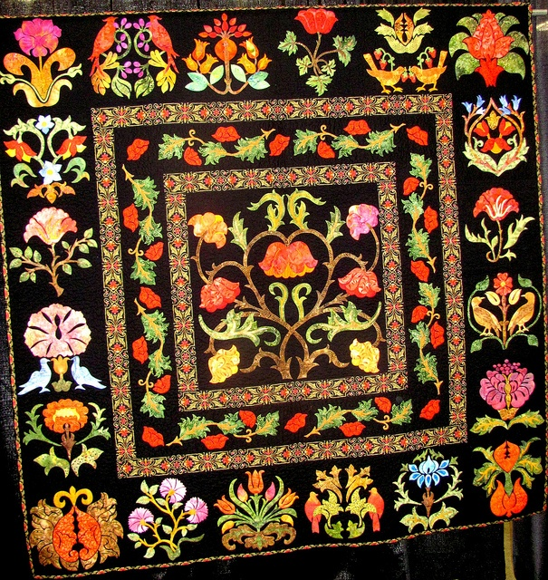 A strikingly beautiful quilt from the 2012 Quilt Expo at the Alliant Energy Center in Madison.