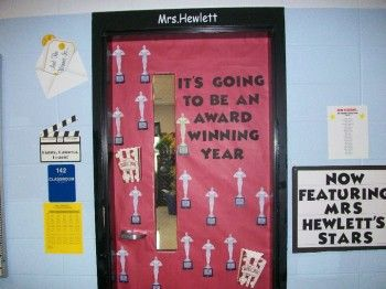 classroom movie theme | It's Going To Be An Award Winning Year! | Hollywood Themed Bulletin ...
