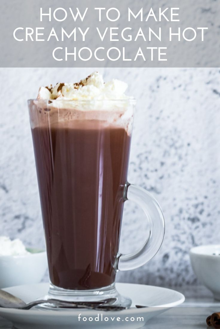 Vegan Hot Chocolate Mix Better Than Starbucks Recipe In 2020 Vegan Hot Chocolate Hot Chocolate Recipes Hot Chocolate Mix