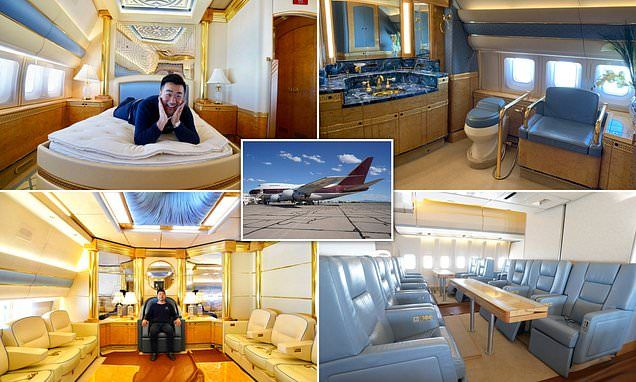 The 747 Private Jet Traveller Is Only Passenger On Flying Palace Private Jet Private Jet Plane Aircraft Sales