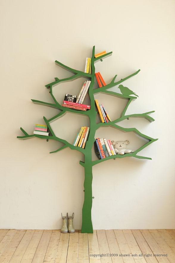 Tree bookcase!Child Room, Ideas, Bookshelves, For Kids, Kids Room, Book Shelves, Trees Bookcas, Trees Bookshelf, Kid Room