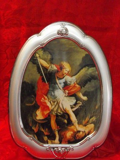Icona Sacra S. Michele Arcangelo del Gargano;De Santis Argenti; :: Casa Del Regalo