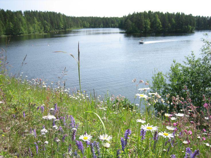 Lake Keitele in Central Finland
