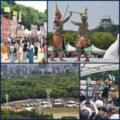 5月下旬20日と21日の週末に第15回タイフェスティバル2017大阪が開催 タイの民族衣装っていうのがなかなかかっこいいんだよね イベントとしてタイの舞踊にタイ式ボクシングタイの料理も楽しめますよ  tags[大阪府]