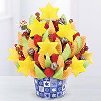 Star of David Celebration Swizzle Apple Fruit Truffles® send Kosher arrangements from our location call 305-861-1771