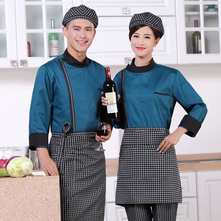 2017 New Summer Chef Uniform Long Sleeved Restaurant Cook Uniforms Work Wear Hotel Cook Clothes DZY12