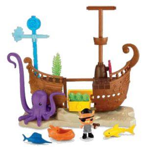 Octonauts - Deluxe Shipwreck Reef Set