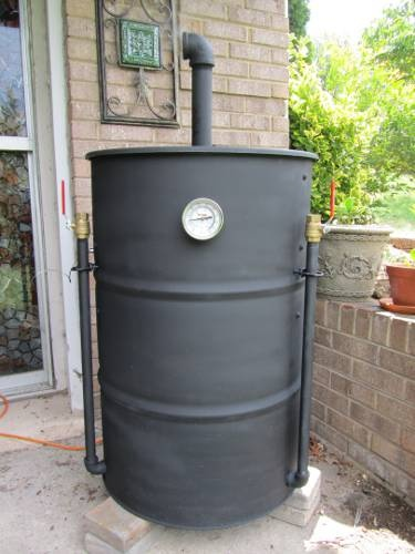 ugly drum smoker drum smoker and smokers on pinterest. Black Bedroom Furniture Sets. Home Design Ideas
