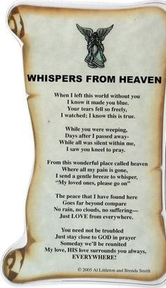 Happy Father's Day to my Dad in Heaven,,These are the very words he would say to us if he could have,,We love you Daddy so much!