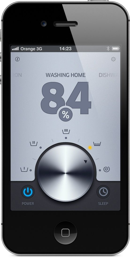Open Laundry API by Michal Galubinski, via Behance